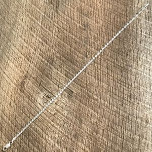Jewelry - 925 Sterling Silver Rope Twist Anklet